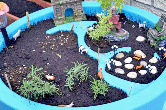 The Idea Of A Fairy Garden Is Simply Lovely Because Not Only Can You Plant  The Fresh Herbs That You Want To Have On Hand In Your Backyard But Also, ...