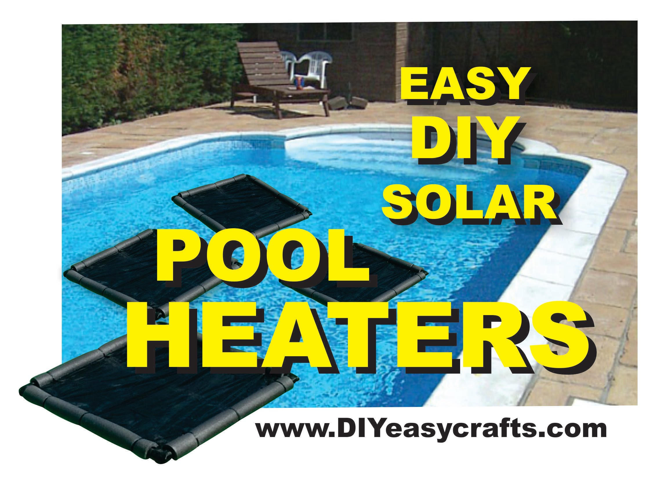 Easy and cheap diy solar pool heater wise diy wise diy for Warm cheap places to live
