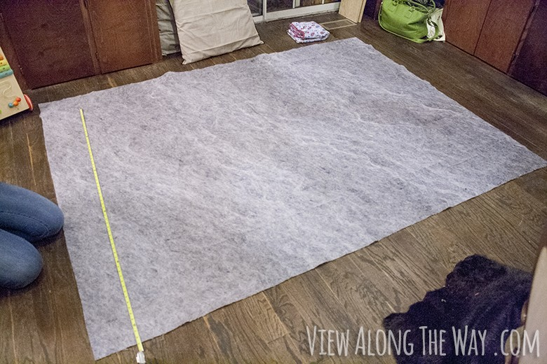 A Faux Fur Rug You Can Make Yourself Wise Diy Wise Diy