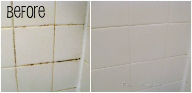 ingredient grout cleaner for a sparkling bathroom wise diy wise