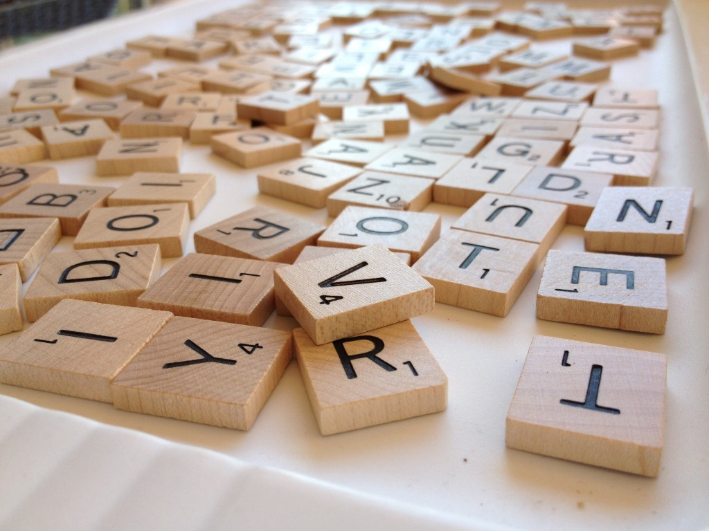 Pleasing She Upcycled Old Scrabble Tiles And Saved Her Coffee Table Uwap Interior Chair Design Uwaporg