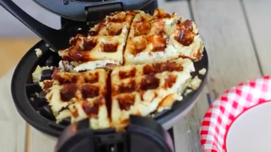 what to make in a waffle iron