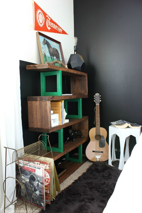 They wanted a 1000 bookcase but diyed it instead the for Diy modern bookshelf