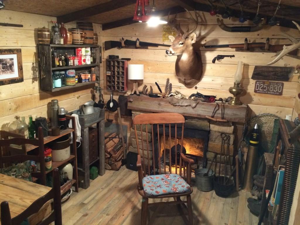 Дизайн подвала в гараже