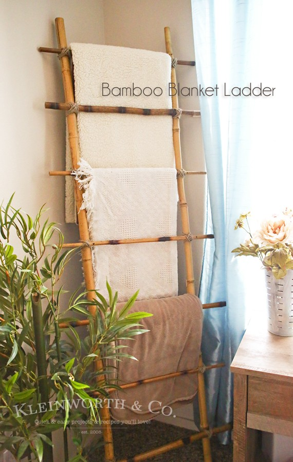 some bamboo sticks get attached and a practical home decor