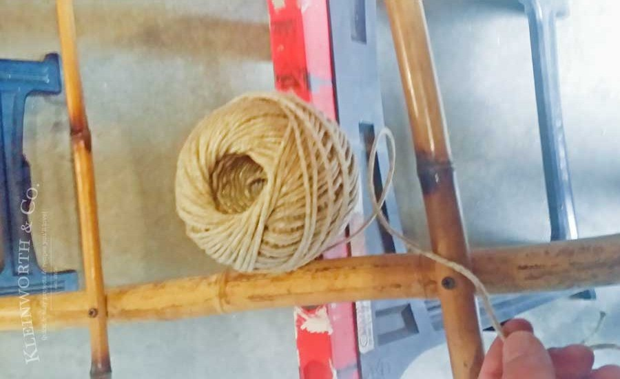 Some bamboo sticks get attached and a practical home decor for How to decorate bamboo sticks