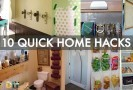 10 Amazing and QUICK Home Hacks You've Never Seen